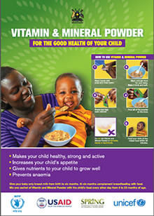 Vitamin and Mineral Powder poster cover