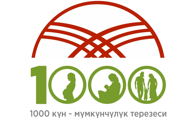 Figure 2. The Kyrgyz Ministry of Health 1,000 Days Logo