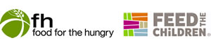 Food for the Hungry and Feed the Children Logos