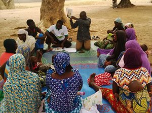 Support group session is held in the Paikocommunity in Gwagwalada Area Council inFederal Capital Territory.