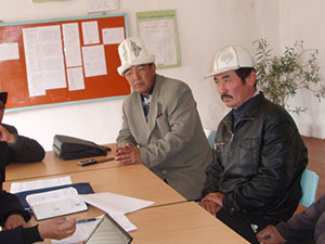 Men's Focus Group Discussion in Naryn