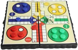 Photograph of a board game