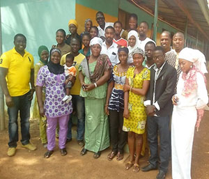Members of the WhatsApp C-IYCF start-up group in Ghana are able to share vital information quickly and easily.