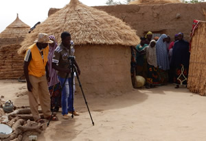 Producing community video in Niger