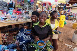 Women in the market
