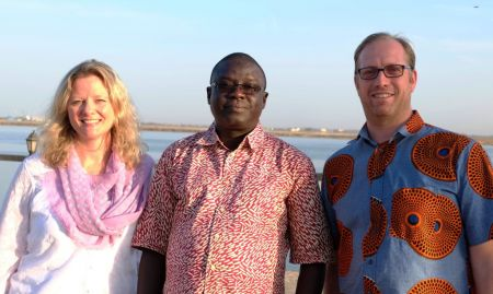 Agriculture experts, Aliou Babou, Madeleine Smith, and Tom van Mourik were excellent workshop facilitators!