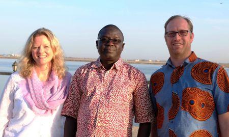 Agriculture experts, Aliou Babou, Madeleine Smith, and Tom van Mourik were excellent workshop facilitators!