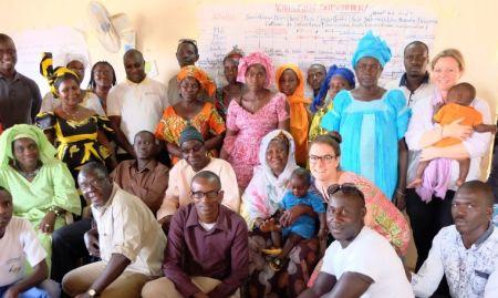The SPRING/Senegal and partner organization, FEPROMAS, workshop team!
