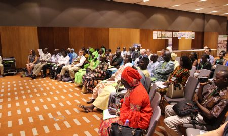 Around 70 guests attended the close-out ceremony in Dakar.
