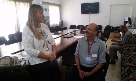 Peace Corps Guinea's Director or Programming and Training Susanne Krasberg and SPRING SBCC Technical Advisor Phil Moses discuss next steps.