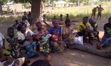 A Support Group Meeting in Abi LGA, Cross River State. 2015