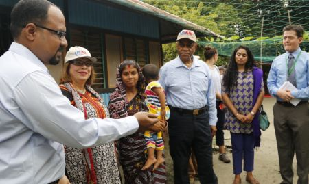 USAID Acting Administrator visiting SPRING/Bangladesh