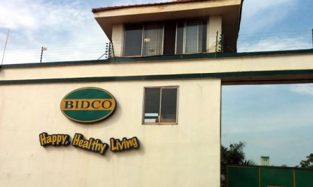 A closer look at the gates of the BIDCO factory
