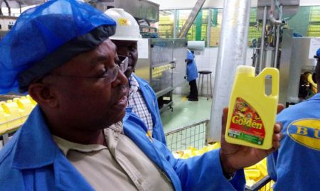 A different brand of fortified oil, still 500mL