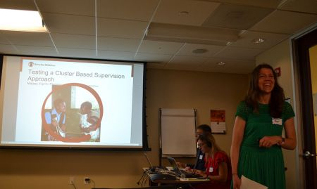 Shannon Pryor (Save the Children) discusses testing a cluster-based supervision approach in Malawi.