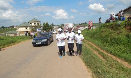Other SPRING staff running in the marathon.