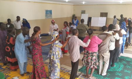 Ice breaker exercise, C-IYCF coaches-level training, Jos, Plateau state. 2015