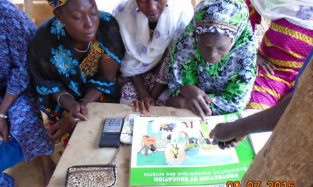 ENA/EHA training for community health center staff in Koro (July 2015)