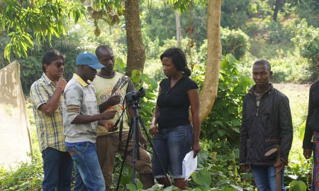 SPRING was able to work with a local plant nursery in Mamou to shoot on location for both videos.