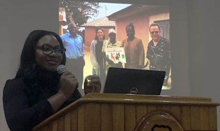 Susan Adeyemi, former SPRING Study Coordinator and currently a consultant for UNICEF/Nigeria, presented the implementation process, activities, and outputs.