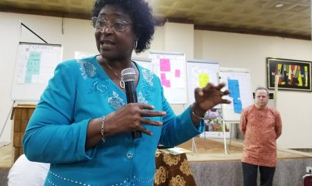Ms. Beatrice Eluaka, who played a key role in adapting the C-IYCF Counselling Package in Nigeria when she was working with the FMOH and is now Director of the Scaling up Nutrition in Nigeria (SUNN) movement's Civil Society Network, shares her recommendations for further improving and scaling up the Package.