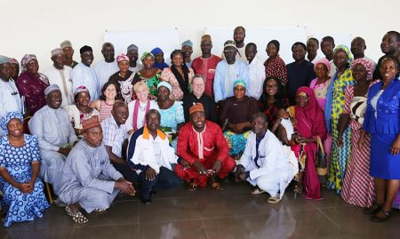 In total, at the Kaduna event there were 60 participants, primarily from Kaduna state government and the Kajuru and Kauru local government areas (the intervention and comparison sites).