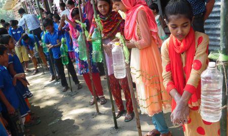 Handwashing school program
