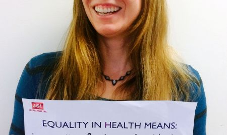 """""""Equality in health means having the freedom and ability to make good choices about your own and your family's health"""""""
