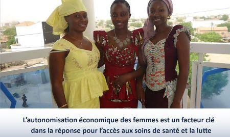 """""""L'autonomisation économique des femmes est un facteur clé dans la réponse pour l'accès aux soins de santé et la lute contra la malnutrition"""""""