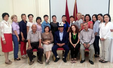 Participants of the Media and Messenger training