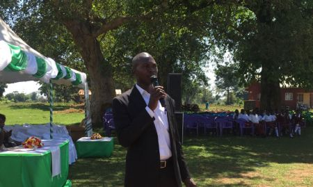 District Nutrition Focal Person Kizito Ndegeya