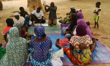 Support group session is held in the Paiko community in Gwagwalada Area Council in FCT. 2015