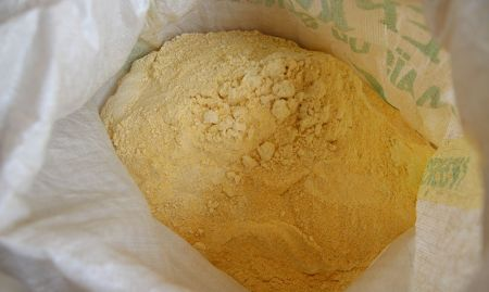Bio-fortified maize flour can be used in place of regular flour in all dishes. Women traditionally spend long hours to make flour from maize by hand.