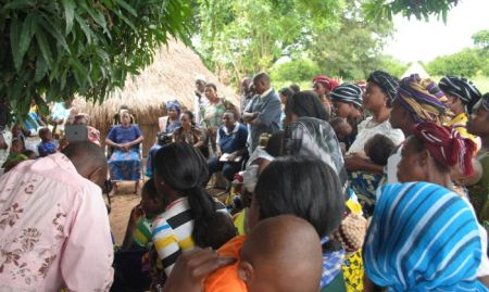 Visit to an Avado support group in Vandeikya LGA 4th of June 2013