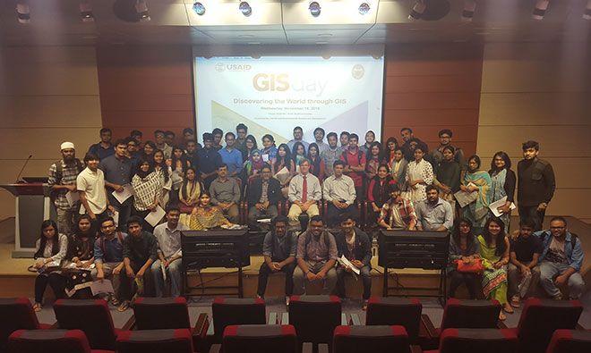 GIS Day participants