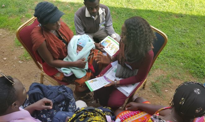 Project Improves Nigerian Capacity to Deliver Infant and Young Child Feeding Messages