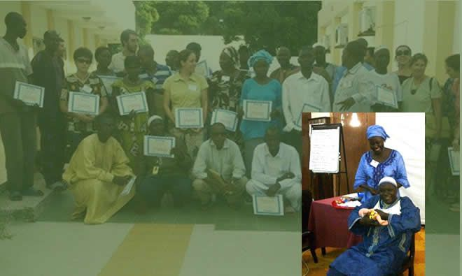 Highlights of the training of trainers