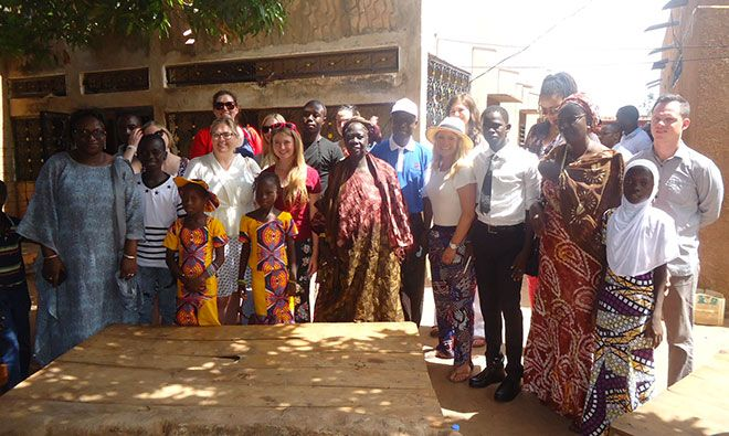 U.S. Congressional Delegation Visits SPRING/Senegal