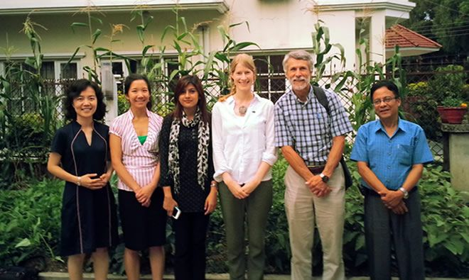The SPRING Pathways to Better Nutrition Case Study Team in Nepal