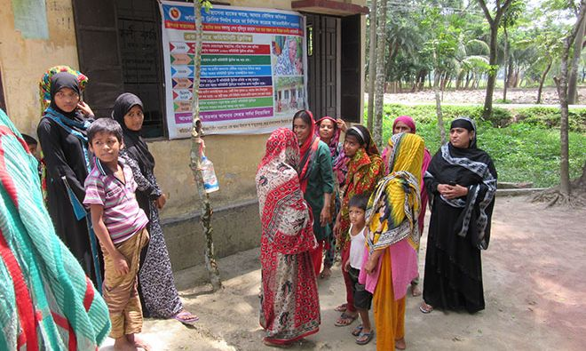 Tippy Taps and Community Nutrition Champions to Play a Larger Role in Bangladesh