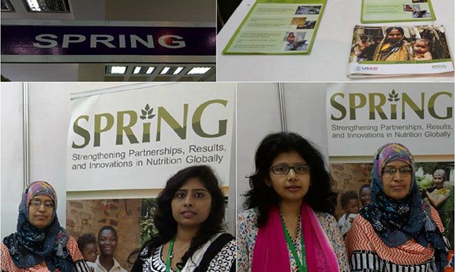 SPRING/Bangladesh Celebrates World Breastfeeding Week with Multiple Events