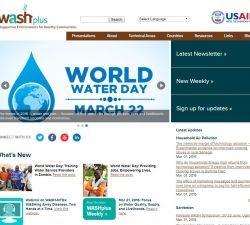 WASHplus homepage