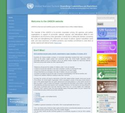 United Nations System Standing Committee on Nutrition (UNSCN)