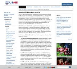 USAID Bureau for Global Health