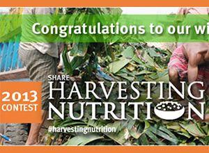 Harvesting Nutrition Celebration Banner