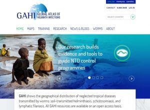Global Atlas of Helminth Infections homepage