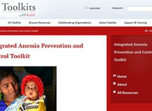 K4Health Toolkit page