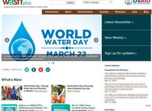 WASHplus homepage