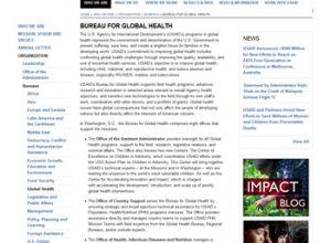 USAID Bureau for Global Health