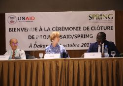 The national coordinator of the Unit for the Fight against Malnutrition, Abdoulaye Ka also delivered a speech during the close-out ceremony in Dakar.